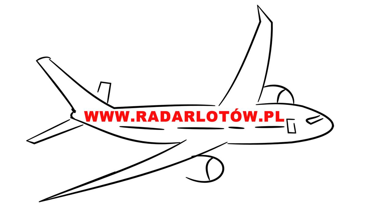 Radar lotów samolotów