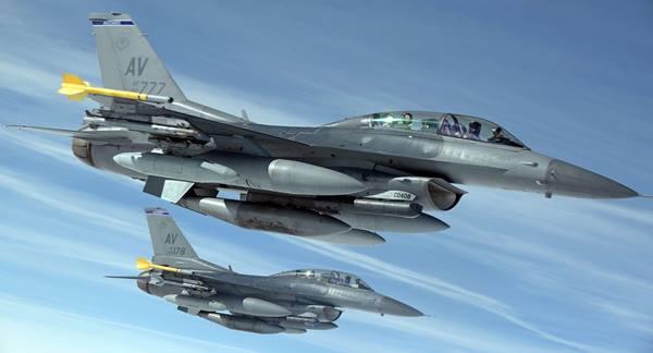 Samoloty wojskowe na radarze lotów